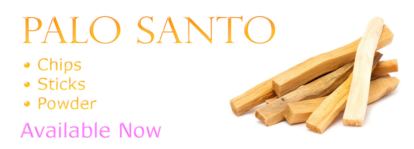Palo Santo Available Now