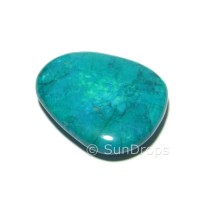 Chrysocolla Howlite Flat Stone