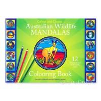 Illumination Mandalas - Australian Wildlife Mandalas Colouring Book (Green)