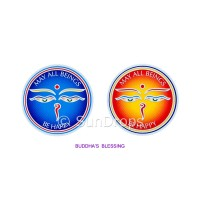 Sunlight Window Sticker - Buddha's Blessing