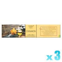 Goloka Aromatherapy Series - Cinnamon - 15g x 3