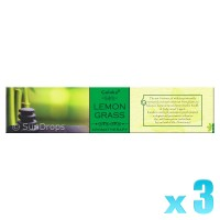 Goloka Aromatherapy Series - Lemongrass - 15g x 3