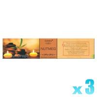 Goloka Aromatherapy Series - Nutmeg - 15g x 3
