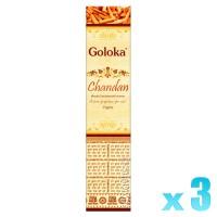 Goloka Divine Series - Chandan - 15g x 3