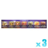 Green Tree Incense Sticks - 7 Angels - 15g x 3