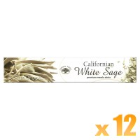 Green Tree Incense Sticks - White Sage - 15g x 12