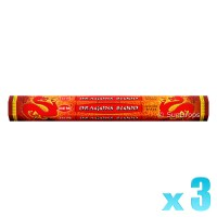 Hem Incense Sticks - Dragons Blood Red - 3 Packets / 60 Sticks