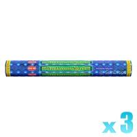 Hem Incense Sticks - Frankincense Myrrh - 3 Packets / 60 Sticks