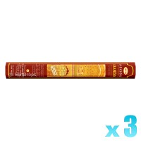 Hem Incense Sticks - Precious Chandan - 3 Packets / 60 Sticks