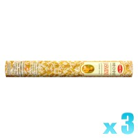 Hem Incense Sticks - Precious Jasmine - 3 Packets / 60 Sticks