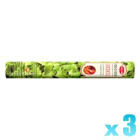 Hem Incense Sticks - Precious Patchouli - 3 Packets / 60 Sticks