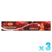 Hem Incense Sticks - Buddha Bliss - 15g x 3