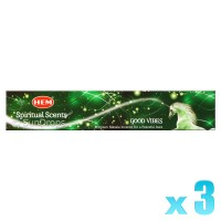 Hem Incense Sticks - Good Vibes - 15g x 3