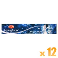 Hem Incense Sticks - Mystical Nights - 15g x 12