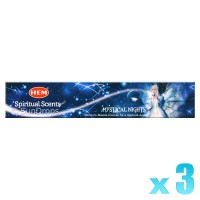 Hem Incense Sticks - Mystical Nights - 15g x 3