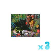 Kamini Incense Cones - Black Opium - 3 Packets / 30 Cones