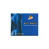 Kamini Incense Cones - Butt Naked - 1 Packet / 10 Cones