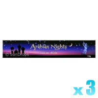 Kamini Incense Sticks - Arabian Nights - 15g x 3