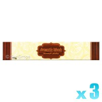 Kamini Incense Sticks - Aromatic Woods - 15g x 3