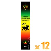 Kamini Incense Sticks - Good Vibrations - 15g x 12