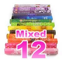 Mixed Hex Packs - All Brands - 12 Packets / 240 Sticks