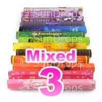 Mixed Hex Packs - All Brands - 3 Packets / 60 Sticks