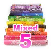 Mixed Hex Packs - All Brands - 5 Packets / 100 Sticks