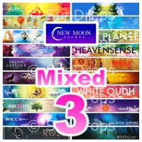 New Moon Incense Sticks - Mixed Pack - 15g x 3