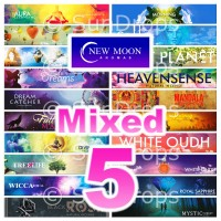 New Moon Incense Sticks - Mixed Pack - 15g x 5
