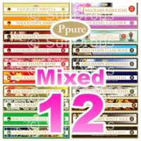 Ppure Incense Sticks - Mixed Pack - 15g x 12