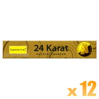 Nandita Incense Sticks - 24 Karat - 15g x 12