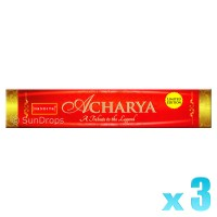 Nandita Incense Sticks - Acharya - 15g x 3
