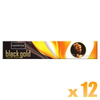 Nandita Incense Sticks - Black Gold - 15g x 12