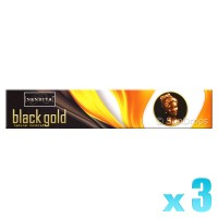 Nandita Incense Sticks - Black Gold - 15g x 3