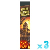 R-Expo Incense Sticks - Haunted Halloween - 15g x 3