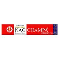 Vijayshree Incense Sticks - Golden Nag Champa - 15g