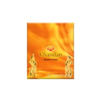 Sandesh Incense Cones - Chandan - 1 Packet / 10 Cones