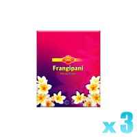 Sandesh Incense Cones - Frangipani - 3 Packets / 30 Cones