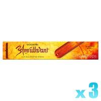 Sandesh Incense Sticks - Amruthvani - 15g x 3