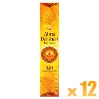 Sandesh Incense Sticks - Atma Darshan - 12 Packets / 180 Sticks
