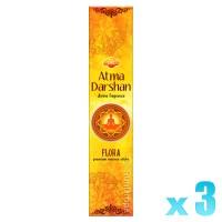 Sandesh Incense Sticks - Atma Darshan - 3 Packets / 45 Sticks