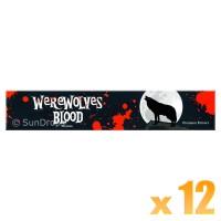 Sandesh Incense Sticks - Werewolves Blood - 15g x 12