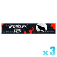 Sandesh Incense Sticks - Werewolves Blood - 15g x 3