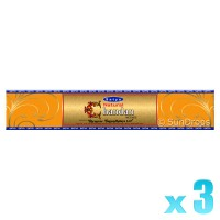 Satya Gold Label Chandan / Sandalwood - 15g x 3