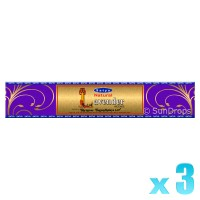 Satya Gold Label Lavender - 15g x 3
