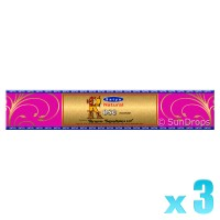 Satya Gold Label Rose - 15g x 3