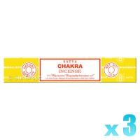 Satya Natural Series - Chakra - 15g x 3