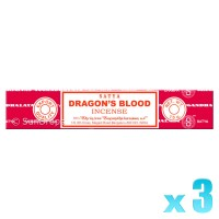 Satya Natural Series - Dragons Blood - 15g x 3