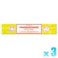 Satya Natural Series - Frankincense - 15g x 3