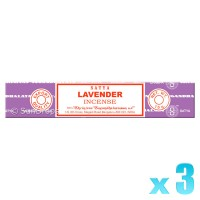 Satya Natural Series - Lavender - 15g x 3